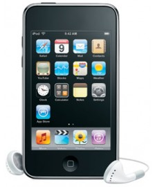 Apple iPod Touch 2G, fekete 8GB