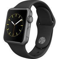 Apple Watch Sport, fekete, S0, 42mm