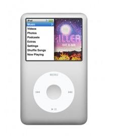 Apple iPod classic 6G, ezüst 120GB