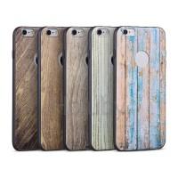 Hoco element series Wood iPhone 6/6S szilikon tok
