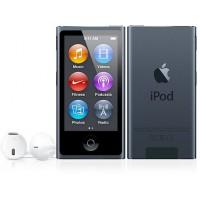 Apple iPod nano 7G, fekete 16GB