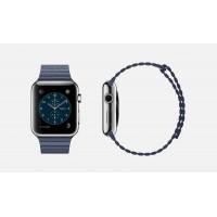 Apple Watch 42mm (éjkék bőrszíj)