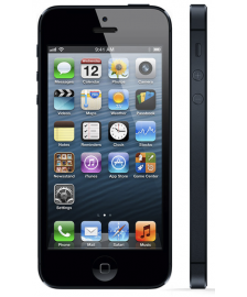 Apple iPhone 5 fekete, 64GB, T-Mobile