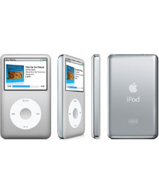 Apple iPod Classic 6G ezüst, 120GB